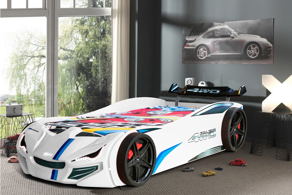 Mercedes Eko Bazalı Arabalı Yatak