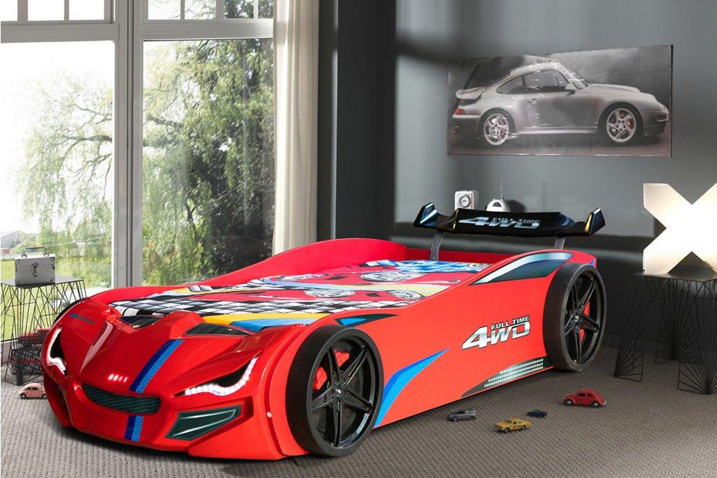 Mercedes Bazalı Arabalı Yatak