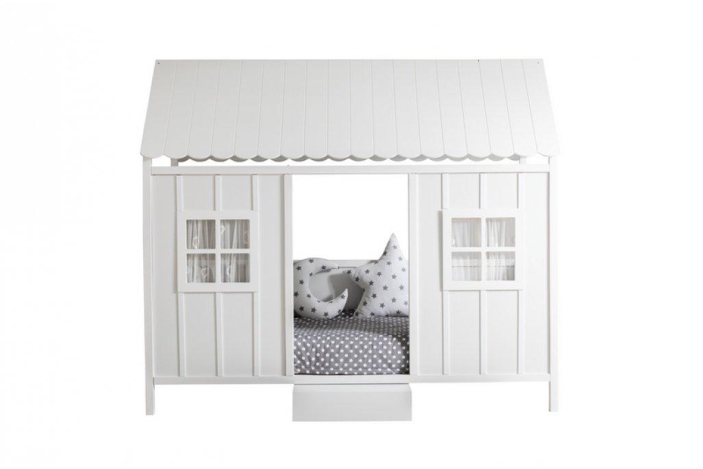 Beyaz Çatılı Sicilya Montessori Yatak