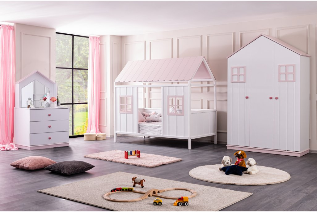 Bodrum Lüx Montessori Çocuk Odası Takımı