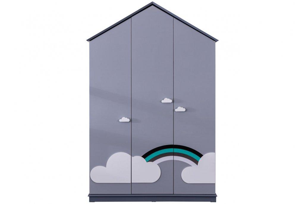 Bulut 3 Kapaklı Montessori Dolap