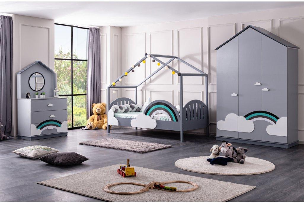 Bulut Montessori Çocuk Odası Takımı