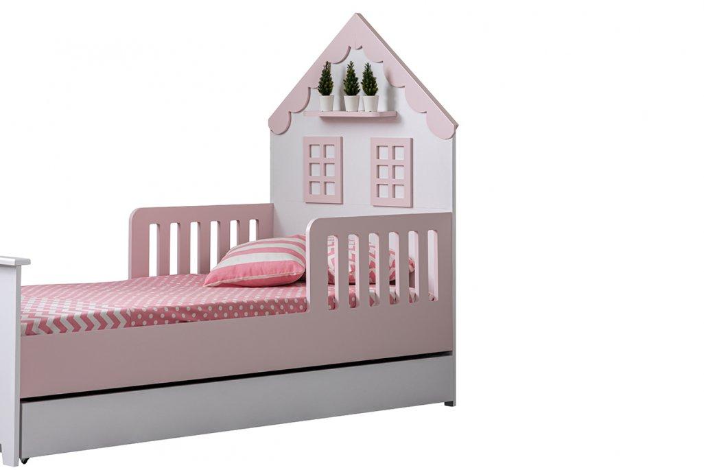 Casa MDF Montessori Yavru Yataklı Karyola