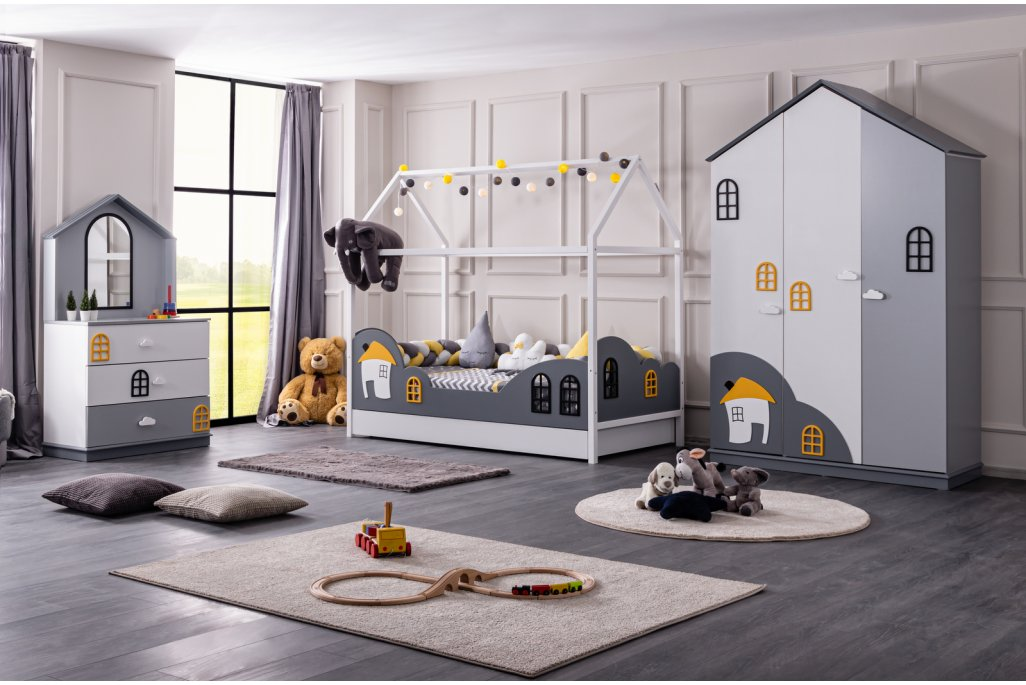 Dolce Yavrulu Montessori Çocuk Odası Takımı