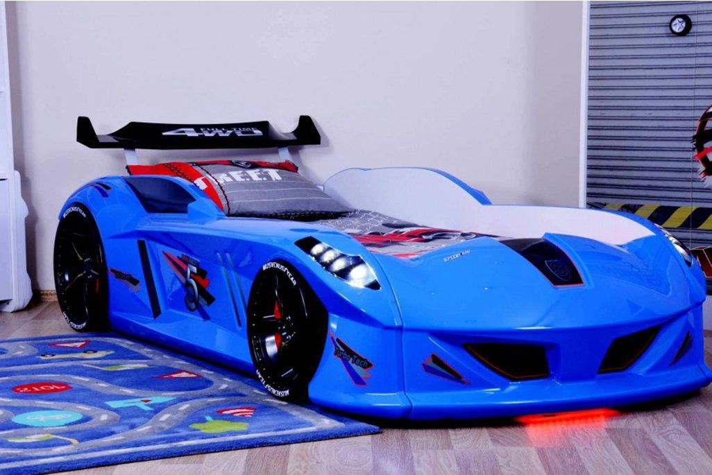 Jaguar Mavi Arabalı Yatak