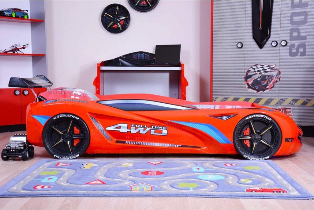 Mercedes Kırmızı Arabalı Yatak