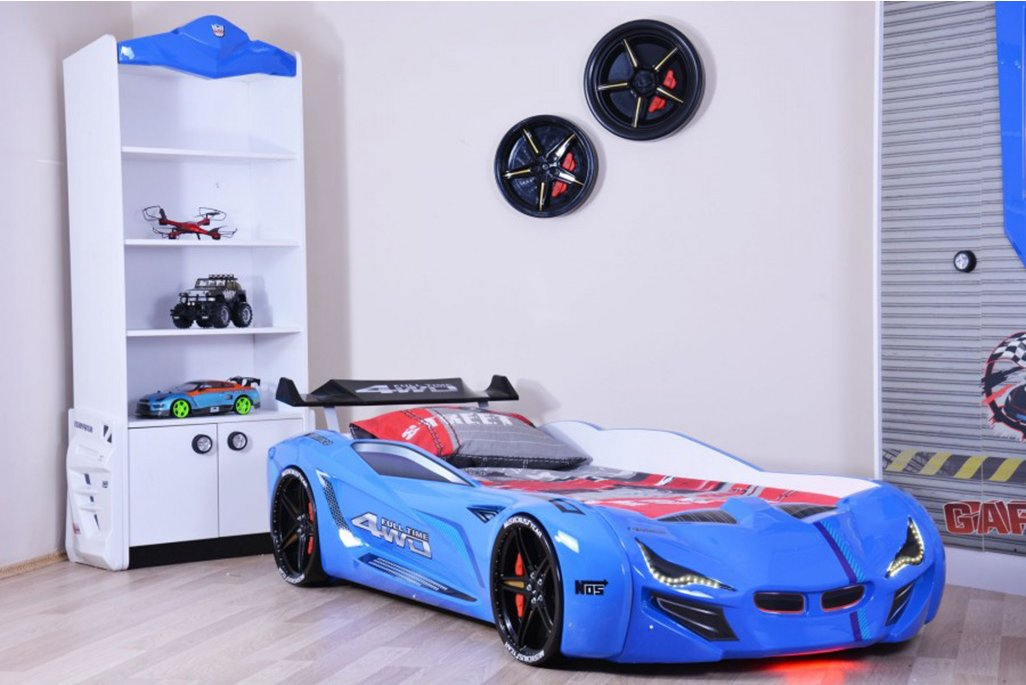 Mercedes Mavi Arabalı Yatak