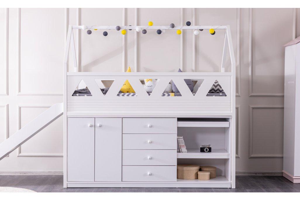 Oyun Evi, Kaydıraklı Montessori Karyola