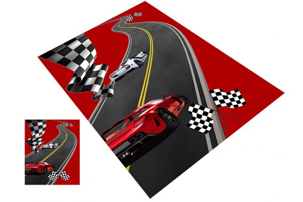Racing Mikrofiber Halı