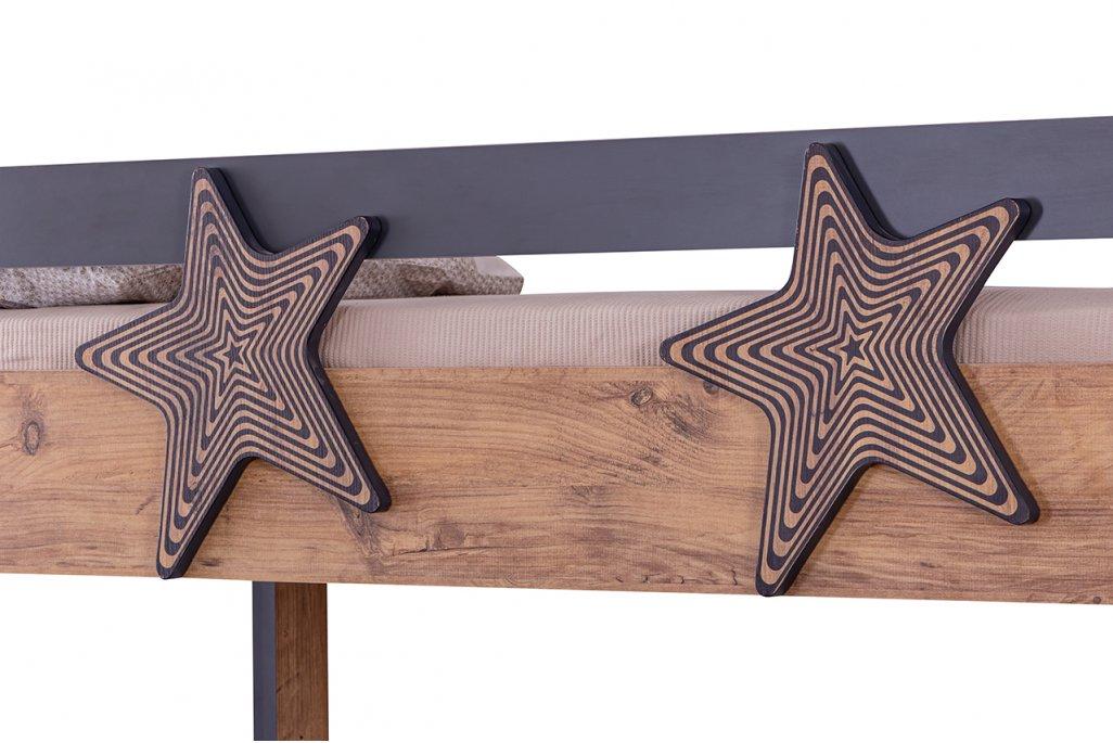 Star Merdivenli Yavru Yataklı Ranza