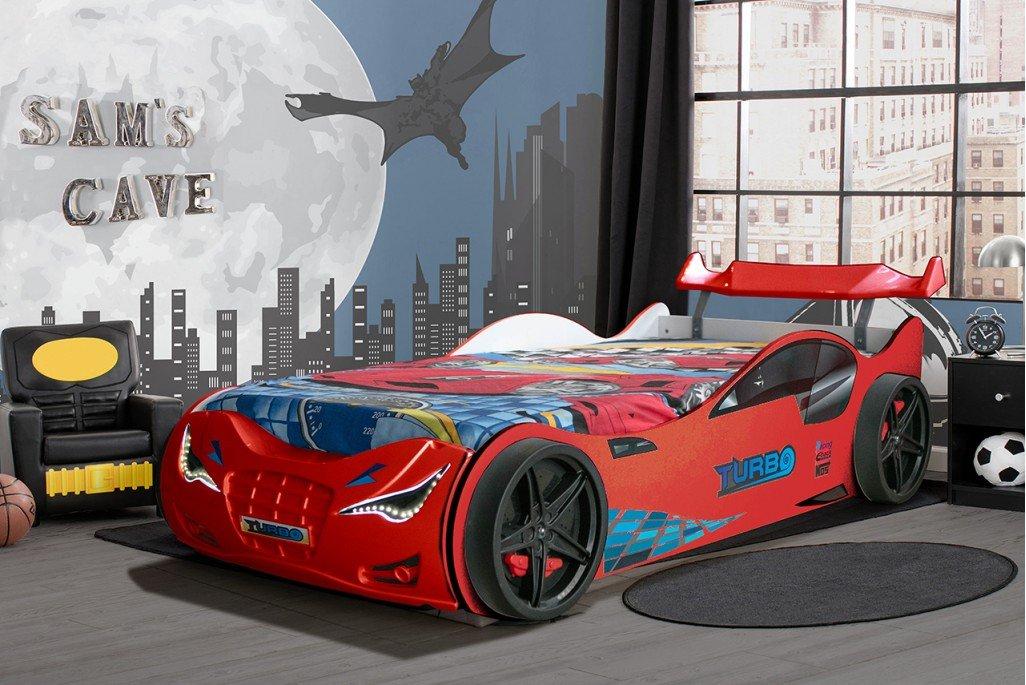 Süpers Bazalı Arabalı Yatak