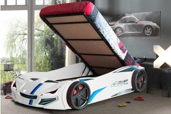Merso Bazalı Arabalı Yatak