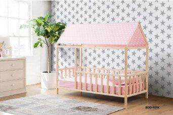 Datça Pembe Çatılı Montessori Yatak