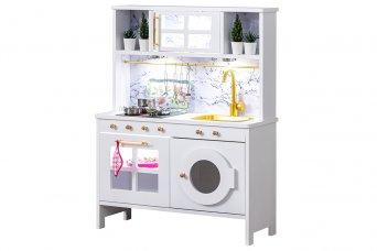 Eğitici Montessori Mutfak Çamaşır Makinalı Oyuncak Seti