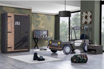 Offroad Jeep Çocuk Odası Takımı