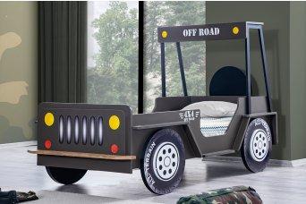 Offroad Jeep Çocuk Karyolası