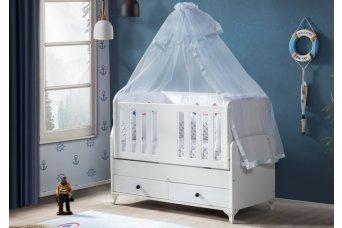 Verde 9006 Mdf Kolçak Bebek Beşiği